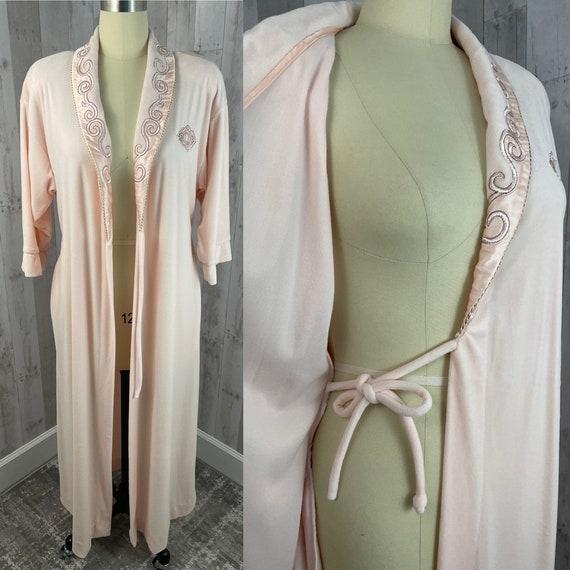 DIOR Vintage 1980s Christian Dior Pale Pink Soft … - image 5