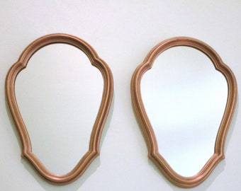 Pair of French Vintage Gold Gilt Wall Mirrors - Matching Pair - Great Condition - Glamour for Your Home