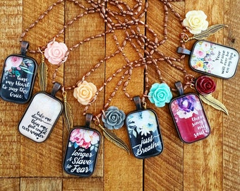 praise collection - one necklace your choice ladies jewelry gift for her