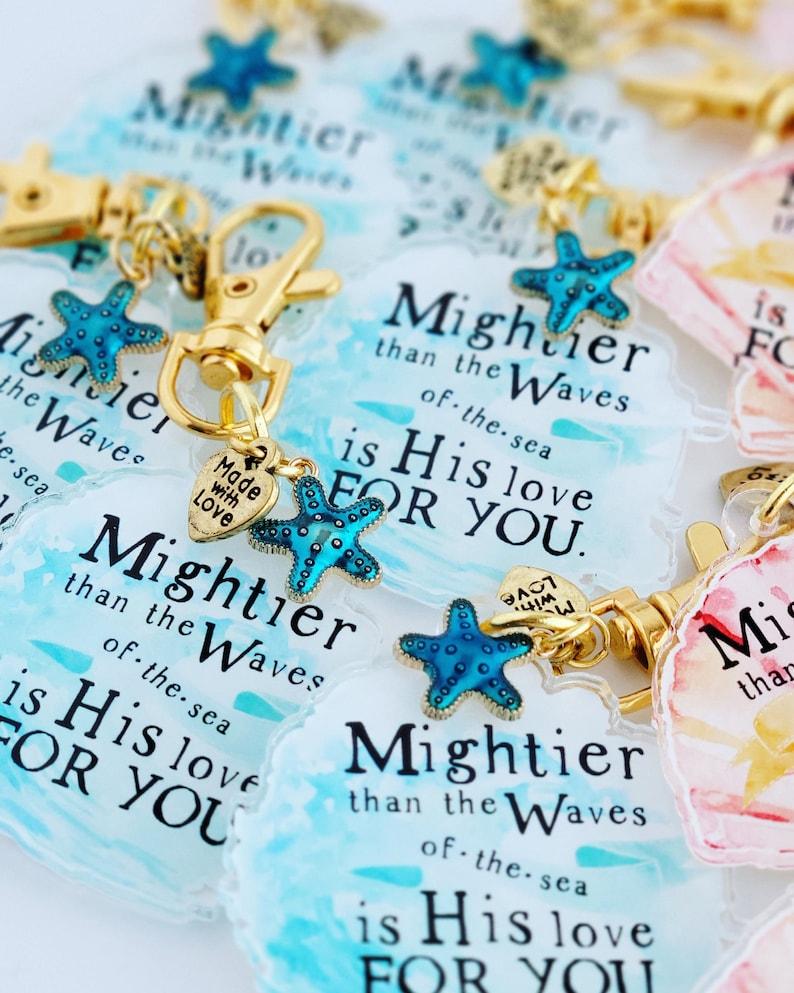 planner purse wallet charm summer seas /& shells