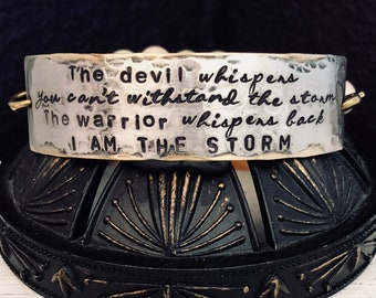 Image result for life said you cant withstand the storm Warrior replied