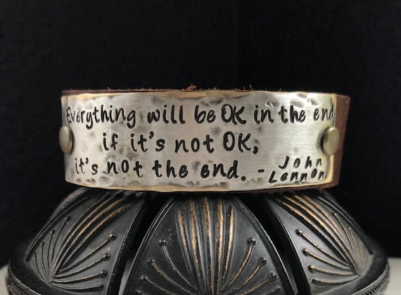 Everything Will Be Ok In The End If Its Not Ok Its Etsy