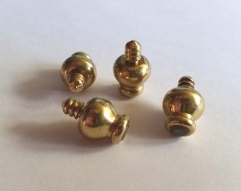 Metal Box Feet Foundations Antique Brass Box Hardware Accessories Craft