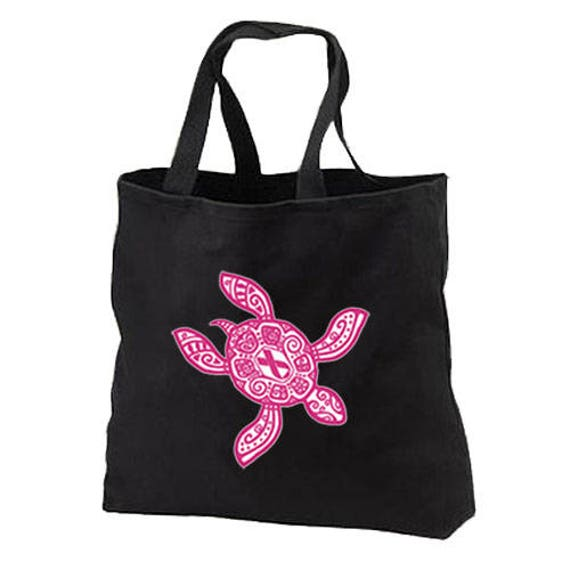 Tote Bag Cancer Zodiac Star Chart Pink Shopping Bag