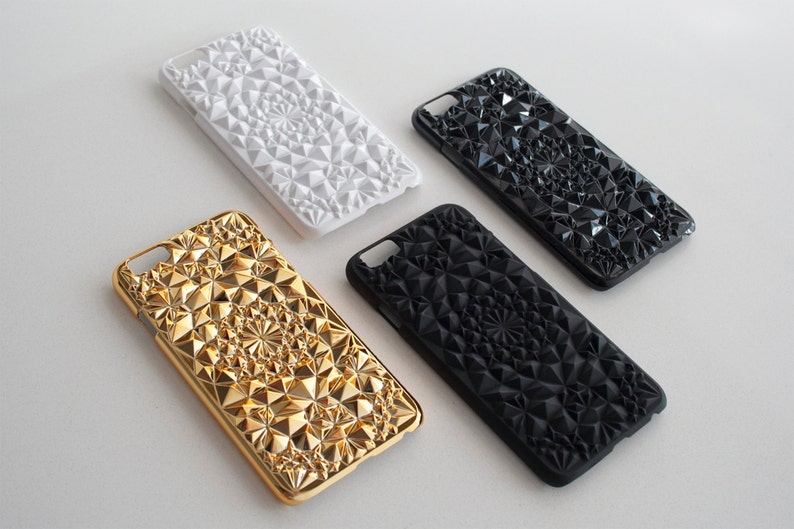 finest selection a1636 17ac4 Kaleidoscope Case for iPhone 6/6s Plus // White Rose Gold Gold Matte Black  Clear Silver Gloss Black iPhone 6/6s PLUS case