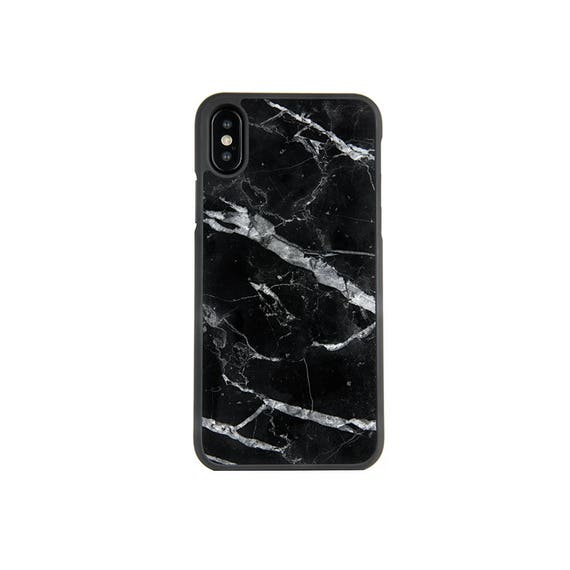 finest selection 8c93c 9f8c4 Genuine Black Marble iPhone X/XS Case // Black marble protective case for  iPhone X/XS - Protective Marble iPhone Case