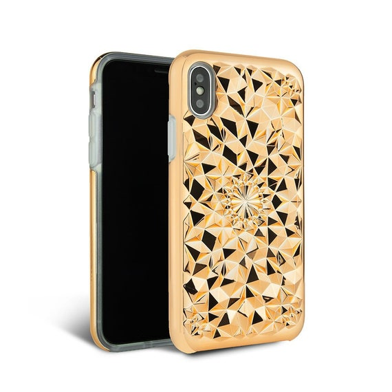 Iphone Xs Max Case Rose Gold Iphone Xs Max Kaleidoscope Etsy