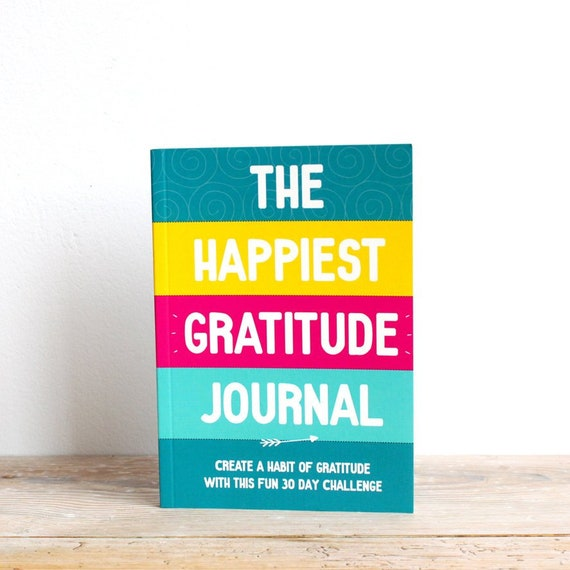 Gratitude Journal Daily Gratitude Happy Journal Positive