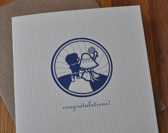 Wedding Card:  Happily Ever After!