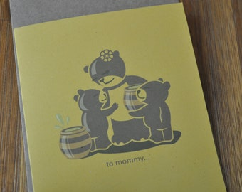 Mother's Day Card - Mama Bear