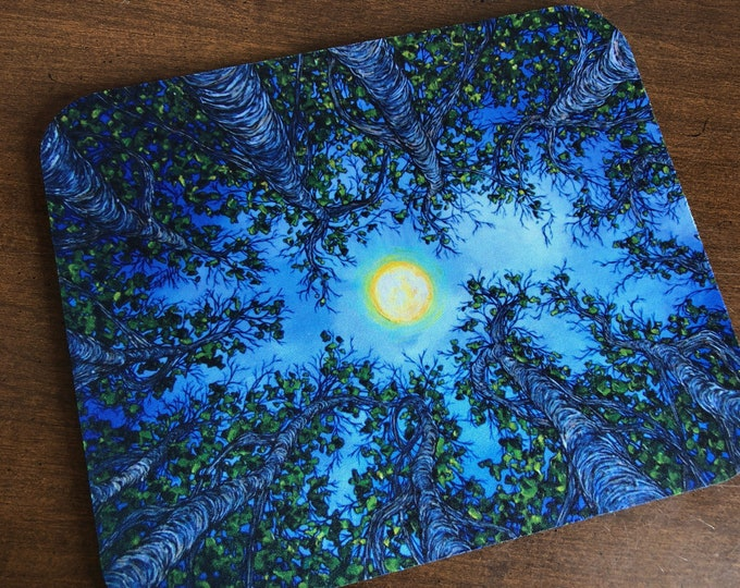 Looking Up in the Trees Mousepad