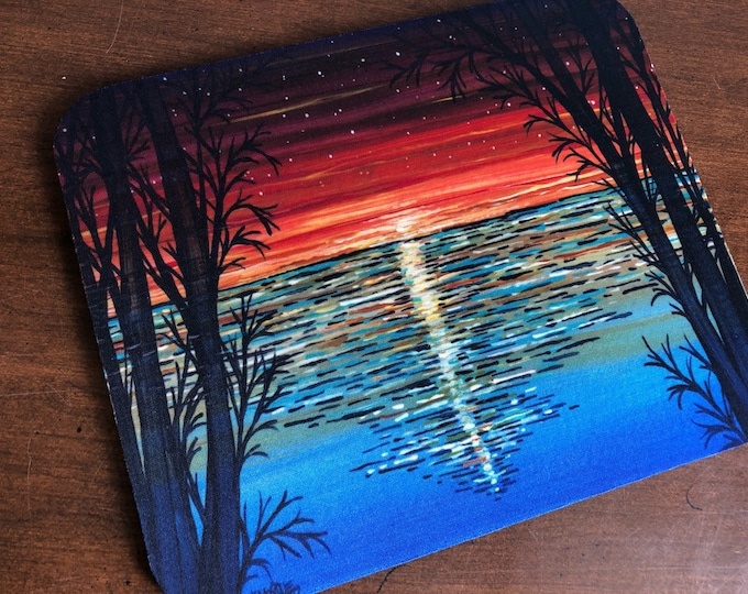 Red Sunset Mousepad