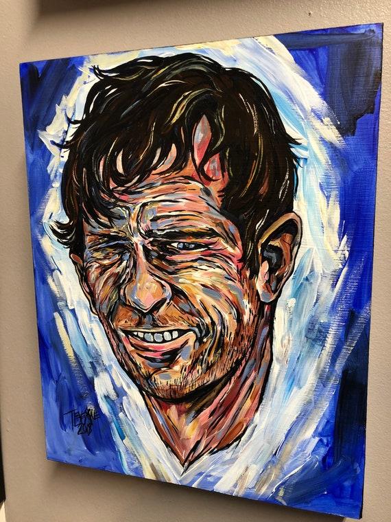 "11x14"" Dharma Bum, Portrait of Jack Kerouac by Tracy Levesque"