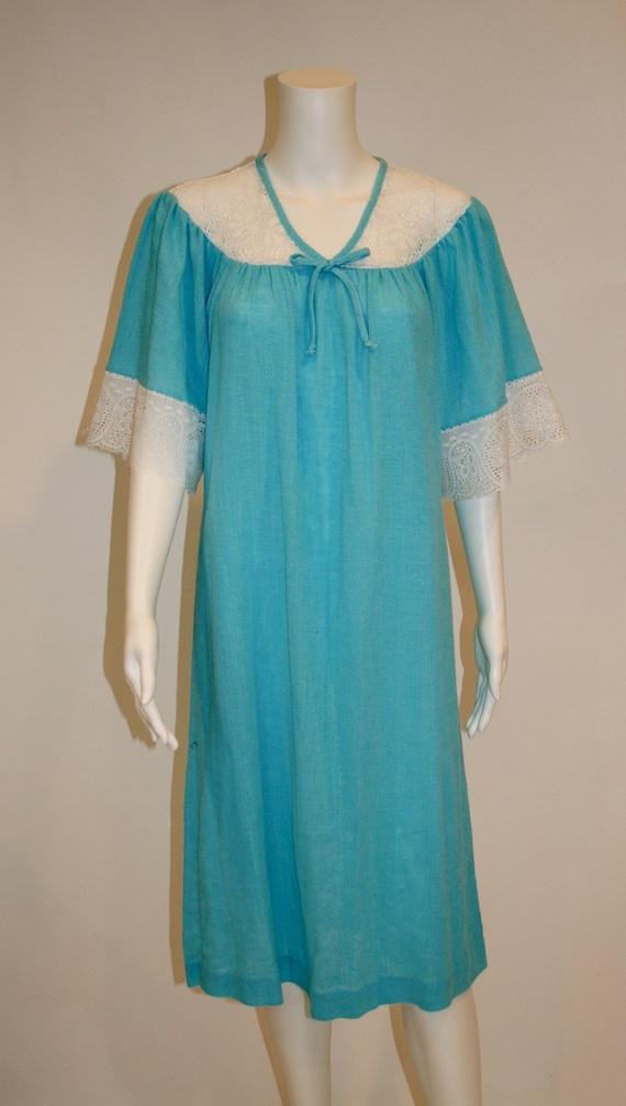 Vintage House Dress, Teddie of California House Dr