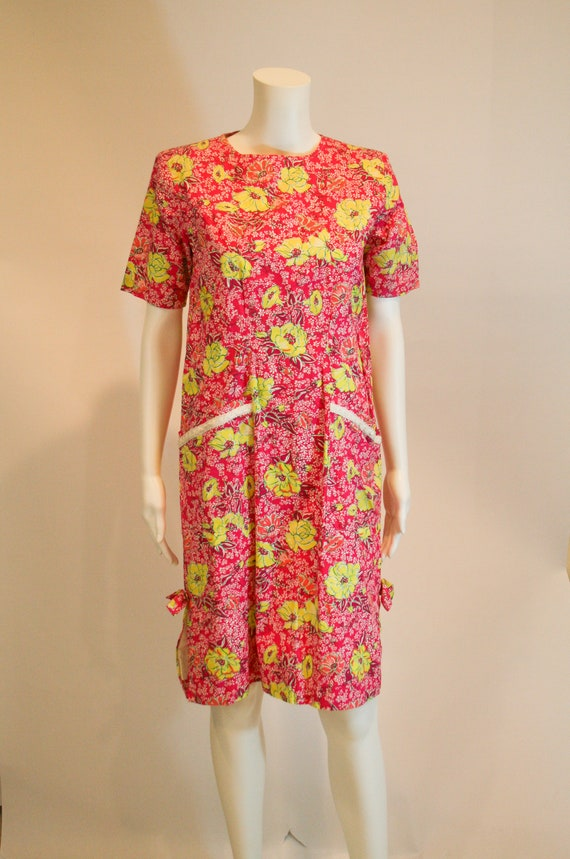 Vintage 1980s Lilly Pulitzer Shift Dress