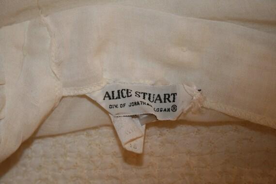 Vintage Alice Stuart Poet Blouse - image 4