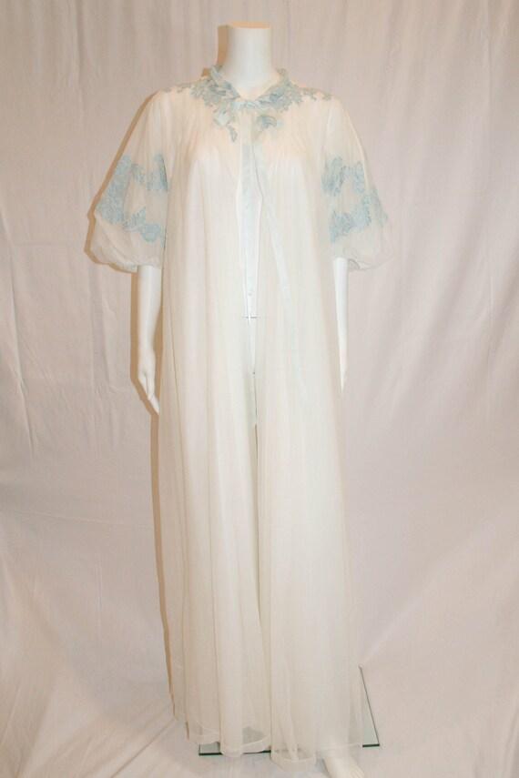 Vintage Odette Barsa 1950s Dressing Gown, Vintage