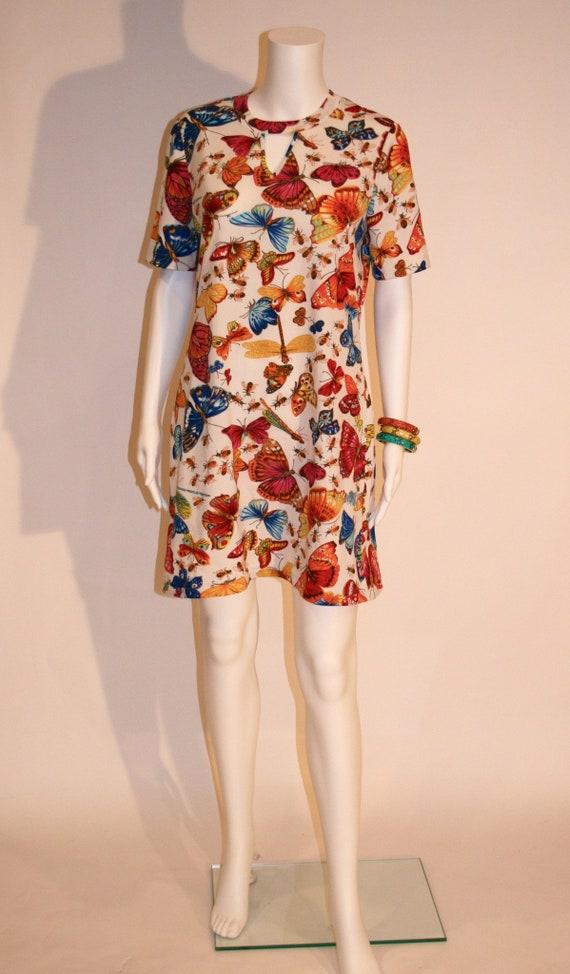 Vintage 1960s Italian Goldworm Dress