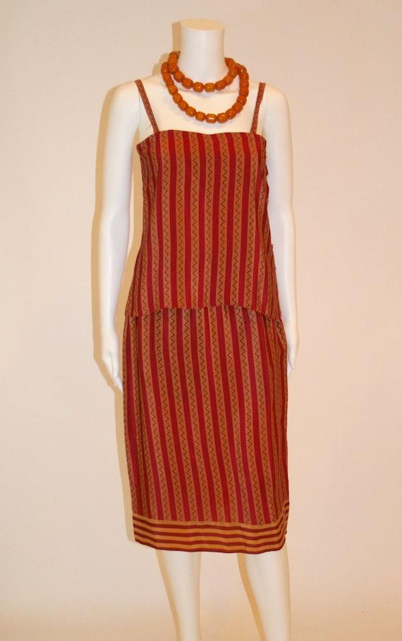 Vintage 80s Calvin Klein Haute Couture