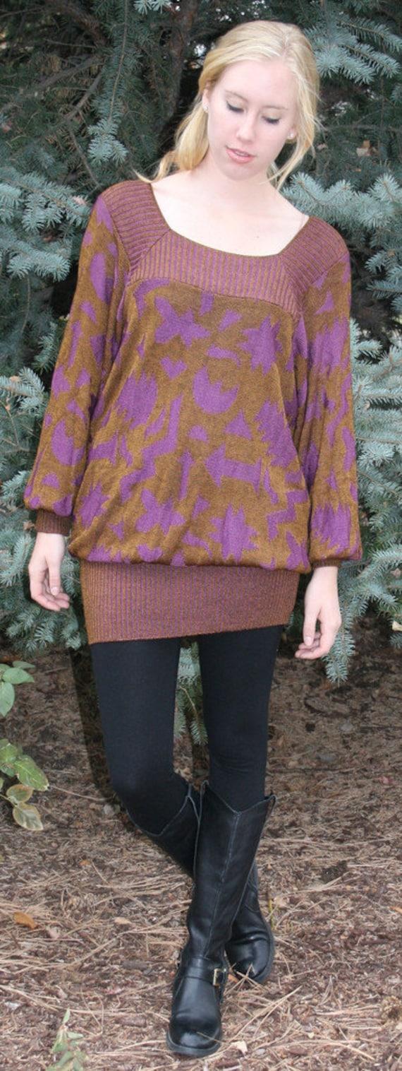 Vintage Italian Tunic Sweater, Tunic sweaters, Vin