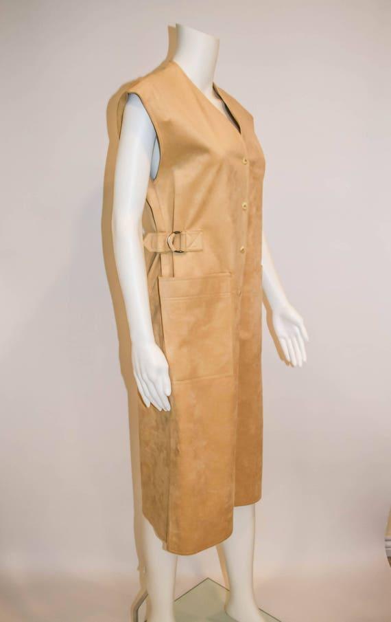 Ultrasuede Blassport for Bill Blass Vintage Dress