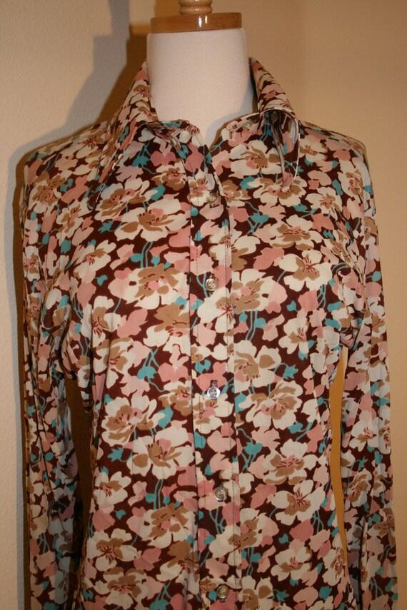 1970's Vintage Silky Blouse by rrrruss, 1970s Blo… - image 2