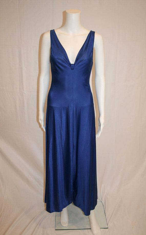 Vintage Vanity Fair Blue Nightgown