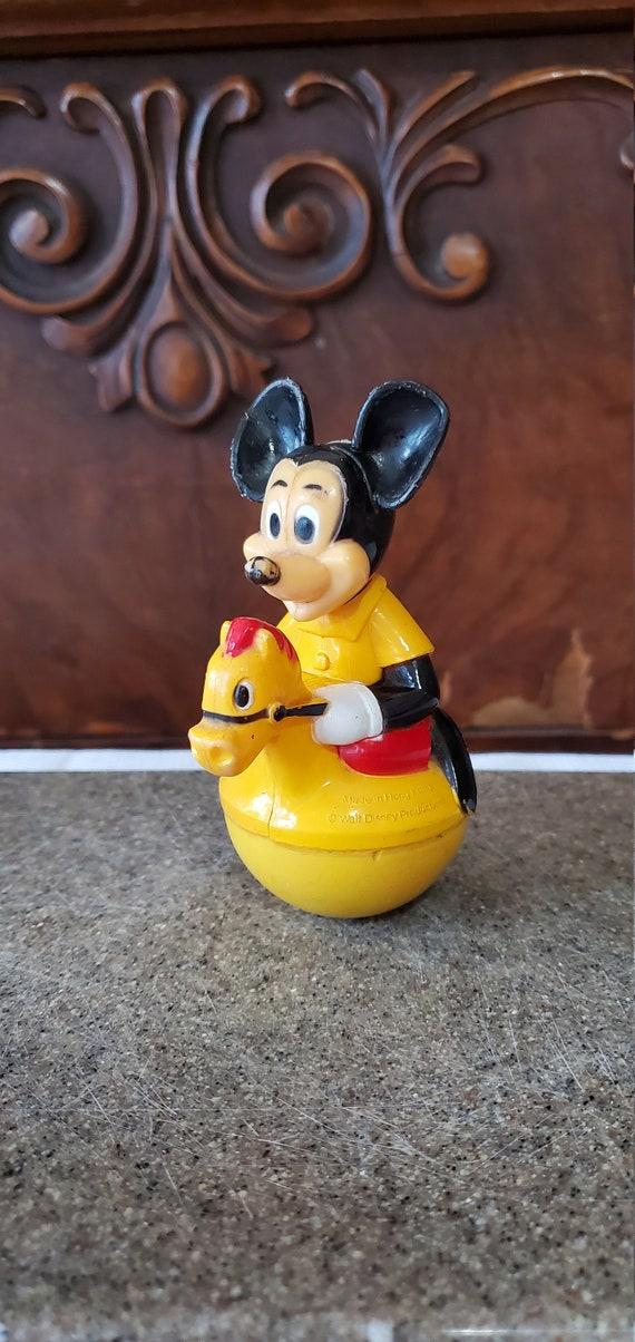 Vintage Gabriel Mickey Mouse Disney Squeakie 1970s Kids Toy