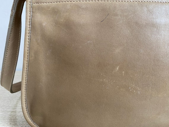 Vintage Coach Bag, Coach Shoulder Bag, Khaki Coac… - image 7
