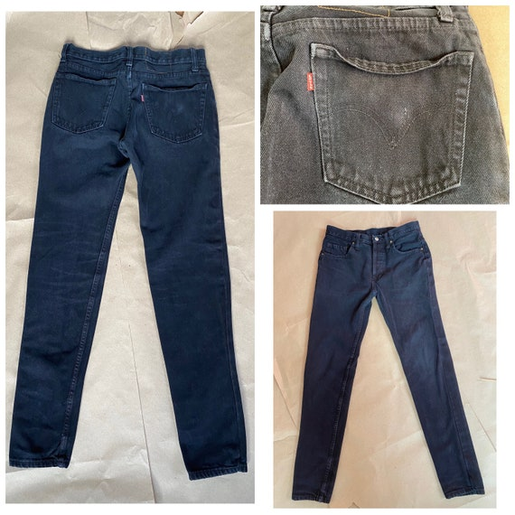 Levi's 501 30x31 Altered Skinny Jeans Levi's Butto