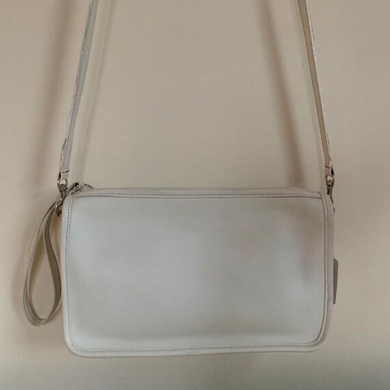 Vintage Coach Bag, Coach Basic Bag, White Vintage… - image 5