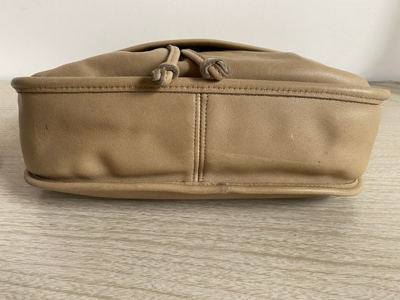 Vintage Coach Bag, Coach Shoulder Bag, Khaki Coac… - image 10