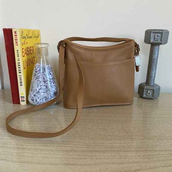 Vintage Coach Mambo Hobo Bag, Tan Coach Bag, Coach