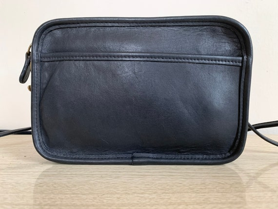 Vintage Coach Bag, Coach Carnival Bag, Navy Blue … - image 3