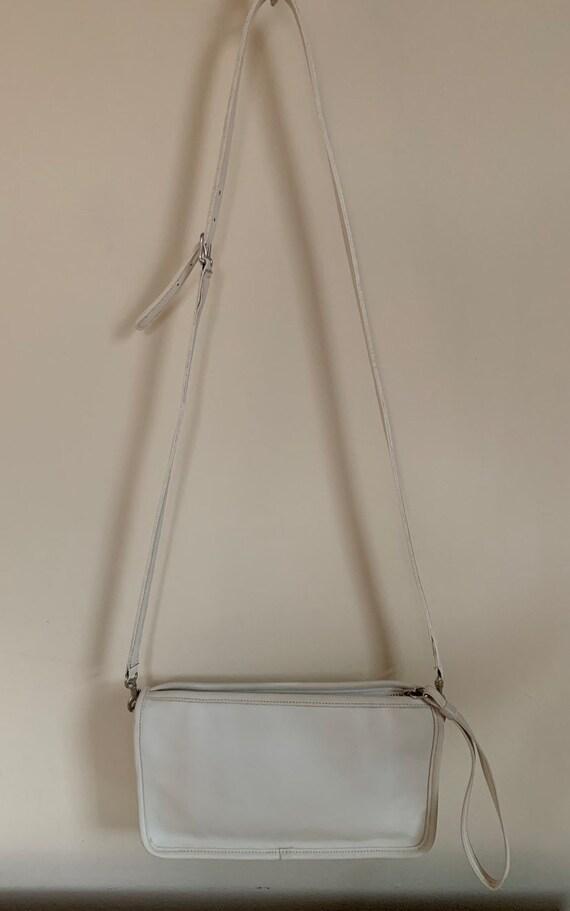 Vintage Coach Bag, Coach Basic Bag, White Vintage… - image 6