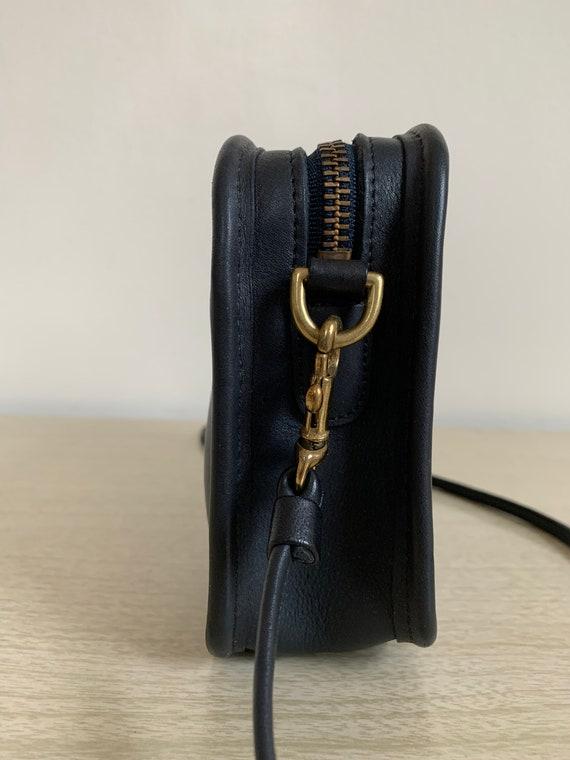 Vintage Coach Bag, Coach Carnival Bag, Navy Blue … - image 8
