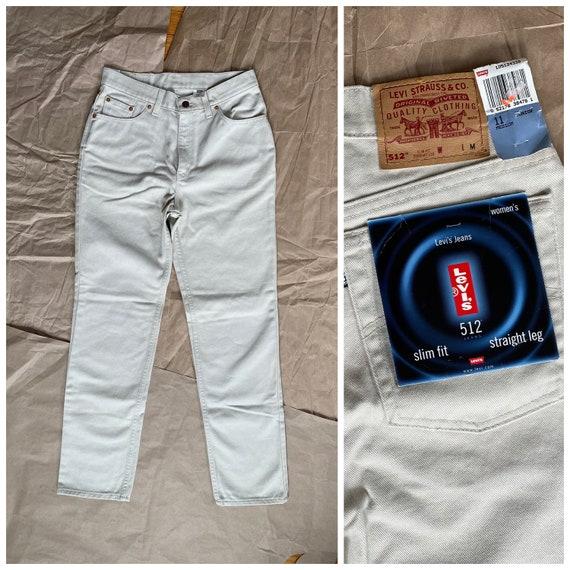 Levi's 512 High Waisted Jeans, Mom Jeans, Vintage