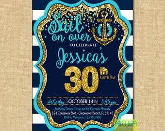 cruise themed invite etsy