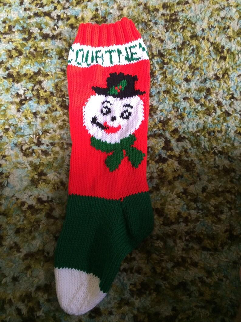Santa christmas stocking or Rudolph