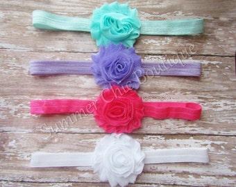 Baby Headband Set of 4, Baby Headband, Infant Headband, Newborn Headband, Toddler Headband, Girls Headband, Baby Headbands