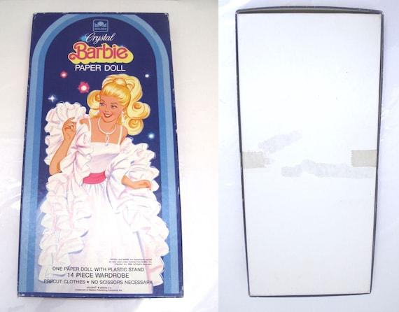 1983 WESTERN SKIPPER Paper Doll Precut Clothes Unpunched Mint in Box Mattel