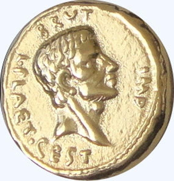 Brutus Roman Empire Assassination of Julius Caesar, 20-G Eid Mar Roman Coin