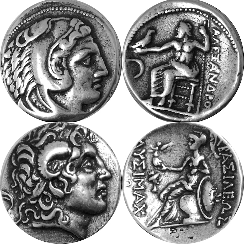 Greek Coin Percy Jackson Teen Gift 83-G Athena /& Owl with Amphora New Style