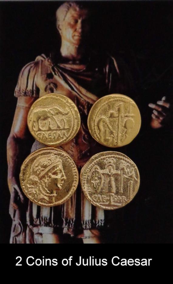 Denarius, 28-G Republic to Empire Julius Caesar Roman Coin Roman Empire