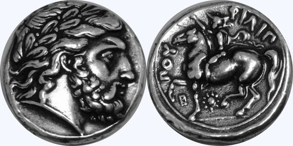 4 Versions Zeus 4 Greek Coin Set 4-ZUESSET-S King of the Gods