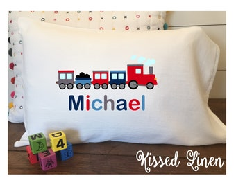 Train Bedding Etsy