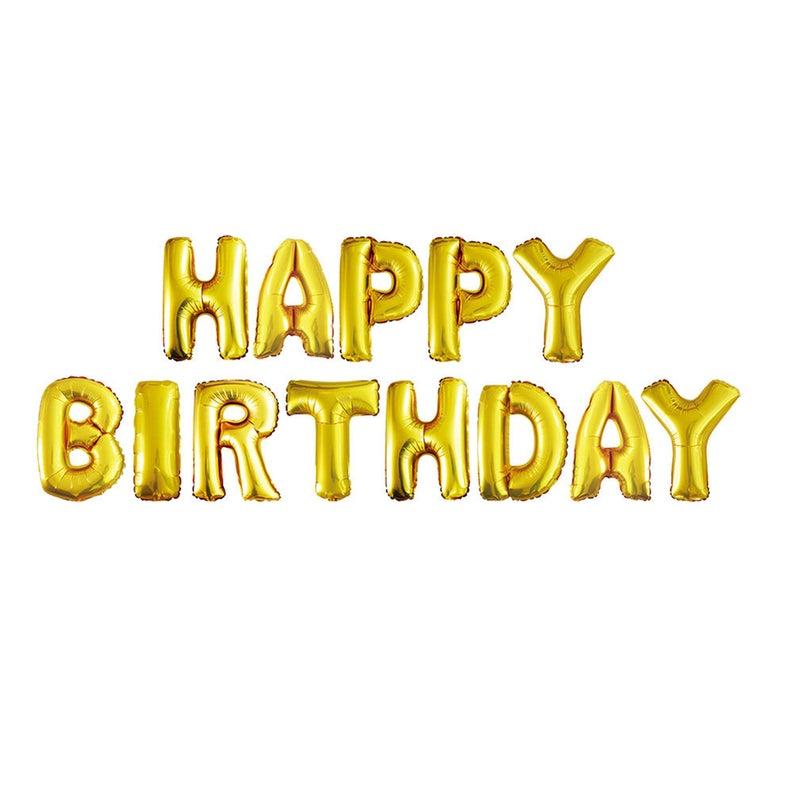 Happy Birthday Letter BalloonsHappy Balloon
