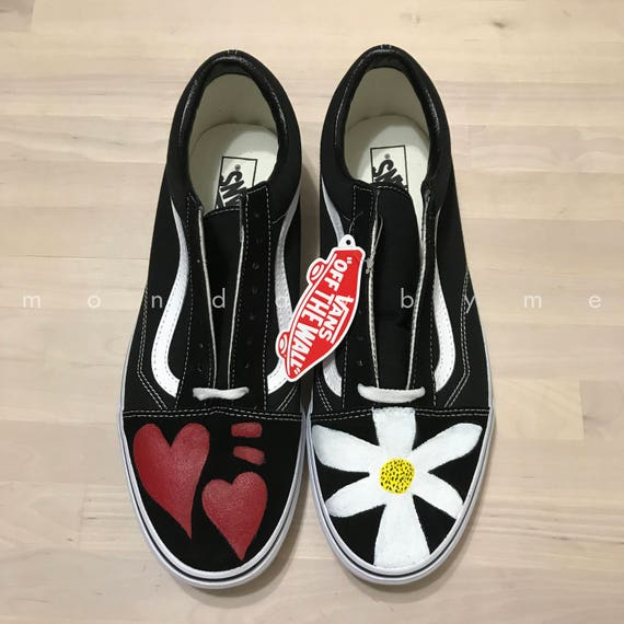 0f5820ac93c Items similar to Custom Vans mommy and me shoes daddy and me shoes on Etsy