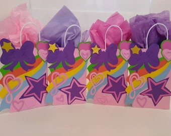 JOJO SIWA 10 COUNT Party Bags Favor Loot Goody Paper Candy Birthday
