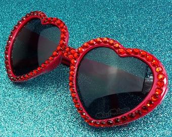 5e747eb0b82c9 RUBY Red Heart Sunglasses